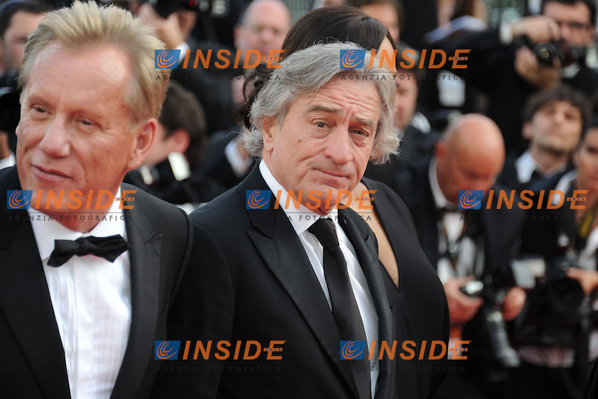Robert De Niro.Cannes 19/05/2012 65° Festival de Cinema di Cannes.Photo JEAN BIBARD Panoramic/Insidefoto