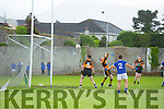 In Action Austin Stacks Pa Fitzgibbon can't stop an other goal from Kerins O'Rahilly's  at the Senior County League Kerins O'Rahilly's V Austin Stacks  Co League Div 1 at Kerins O'Rahilly's Strand Rd on Saturday