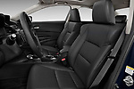 Front seat view of 2013-2014 Acura ilx hybrid 5 Door Sedan front seat car photos