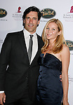 BEVERLY HILLS, CA. - October 11: Actors Jon Hamm and Jennifer Westfeldt arrive at St. Jude's 5th Annual Runway For Life Benefit at the Beverly Hilton Hotel on October 11, 2008 in Beverly Hills, California.