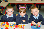 First day<br /> -----------<br /> Three new kids started school in Killahan NS, Abbeydorney last Thursday L-R Patrick Murphy, Iona Ojica and Eoin Bradley