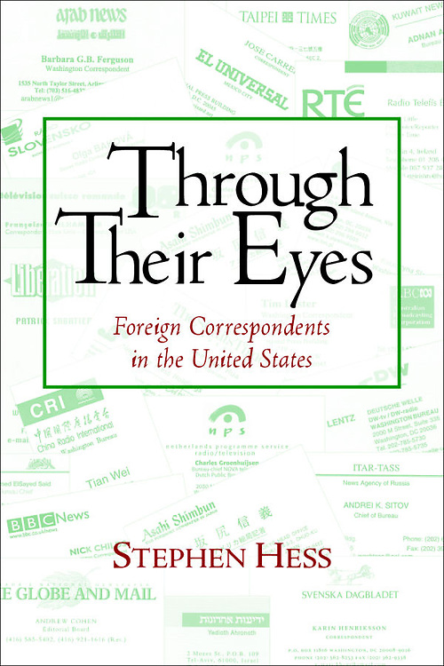A book by Stephen Hess, a Brookings Institute scholar.