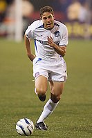 Manny Lagos of the Earthquakes. The San Jose Earthquakes and the the NY/NJ MetroStars played to a 4-4 tie on 7/02/03 at Giant's Stadium, NJ..