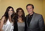 Gloria Gaynor sang I Will Survive poses with Frank Dicopoulos (Guiding Light) and singer Anna Vissi (L) at Loukoumi & Friends Concert held on June 23, 2014 at the Scholastic Theatre, New York City, New York. Proceeds will benefit The Loukoumi Make a Difference Foundation. Foundation first project will be the Make A Difference with Loukoumi television special airing on FOX stations Oct 19-20. (Photo by Sue Coflin/Max Photos)