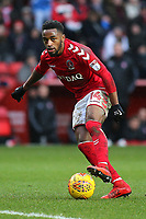 Tariqe Fosu of Charlton Athletic in action during Charlton Athletic vs Oxford United, Sky Bet EFL League 1 Football at The Valley on 3rd February 2018