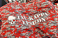 Tee shirt with Tau Kappa Epsilon logo.