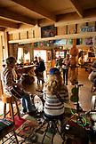 USA, Alaska, Coopers Landing, Kenai River, inside of the restaurant Kingfisher Roadhouse