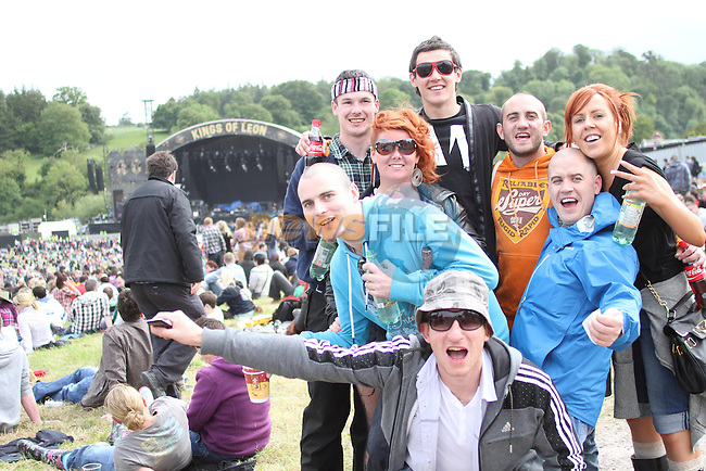 at Slane Concert 2011..(Photo credit should read Jenny Matthews www.newsfile.ie)....This Picture has been sent you under the conditions enclosed by:.Newsfile Ltd..The Studio,.Millmount Abbey,.Drogheda,.Co Meath..Ireland..Tel: +353(0)41-9871240.Fax: +353(0)41-9871260.GSM: +353(0)86-2500958.email: pictures@newsfile.ie.www.newsfile.ie.