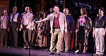 Tom Wopat & Company.during the New York City Center Encores! 'Pipe Dream' Opening Night Curtain Call in New York City on 3/28/2012.