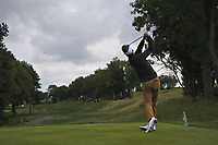 Paul Peterson (USA) on the 4th tee during Round 4 of the D+D Real Czech Masters at the Albatross Golf Resort, Prague, Czech Rep. 03/09/2017<br /> Picture: Golffile   Thos Caffrey<br /> <br /> <br /> All photo usage must carry mandatory copyright credit     (&copy; Golffile   Thos Caffrey)
