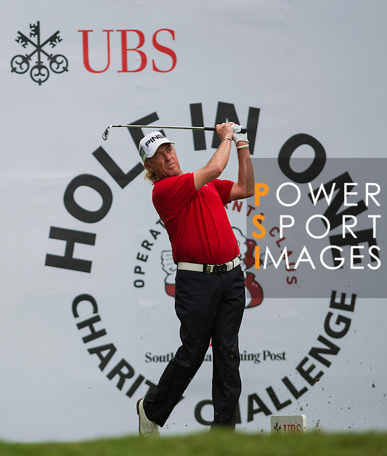 Players in action during day four of the UBS Hong Kong Open Championship at the Hong Kong Golf Club on 18 November 2012, in Fanling. Photo by Leena Chatlani / The Power of Sport Images
