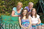 Maria, Caoimhe, Aoife and Paddy Garvey