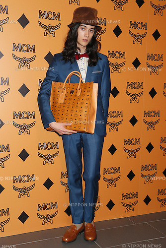 Rui Kurihara, Mar 18, 2013 : MCM re-launch party was held at AUDI FORUM TOKYO in Tokyo, Japan. (Photo by AFLO)