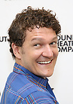 Gabriel Ebert attends the press photo call for the Roundabout Theatre Company's production of  'Time and the Conways' at The Roundabout Theatre Studios on August 24, 2017 in New York City.