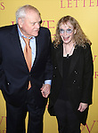 Brian Dennehy and Mia Farrow attend the 'Love Letters' Broadway Opening Night after party at Brasserie 8 1/2 on September 18, 2014 in New York City.