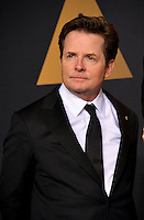 Michael J. Fox in the photo room at the 89th Annual Academy Awards at Dolby Theatre, Los Angeles, USA 26 February  2017<br /> Picture: Paul Smith/Featureflash/SilverHub 0208 004 5359 sales@silverhubmedia.com
