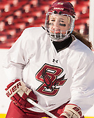 Kathleen McNamara (BC - 28) - The Boston College Eagles practiced at Fenway on Monday, January 9, 2017, in Boston, Massachusetts.Kathleen McNamara (BC - 28) - The Boston College Eagles practiced at Fenway on Monday, January 9, 2017, in Boston, Massachusetts.