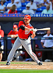 28 February 2011: Washington Nationals' outfielder Matt Stairs in action during a Spring Training game against the New York Mets at Digital Domain Park in Port St. Lucie, Florida. The Nationals defeated the Mets 9-3 in Grapefruit League action. Mandatory Credit: Ed Wolfstein Photo