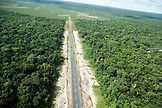 BRAZIL, Agua Boa, a runway cut into the Amazon Jungle, Agua Boa Resort and Lodge