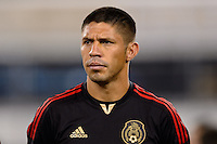 Mexico forward Oribe Peralta (19). Mexico defeated the Ivory Coast 4-1 during an international friendly at MetLife Stadium in East Rutherford, NJ, on August 14, 2013.