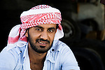 Young Yemeni man in traditional clothing, Hawf Protected Area, Yemen