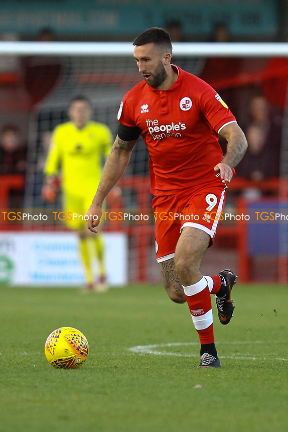 Ollie Palmer of Crawley Town during Crawley Town vs MK Dons, Sky Bet EFL League 2 Football at Broadfield Stadium on 3rd November 2018