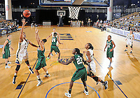 Florida International University forward Diamond Ashmore (13) plays against Stetson University in the first round of the NIT.  FIU won the game 75-47 on March 15, 2012 at Miami, Florida. .