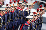 Members of the Royal Guard during the National Day Military Parad.October 12,2012.(ALTERPHOTOS/Acero)