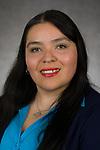 Monica Ramos, Coordinator, Latinx Cultural Center, Multicultural Student Affairs, Student Affairs, DePaul University, is pictured Feb. 20, 2018. (DePaul University/Jeff Carrion)