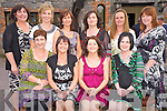 Mary Coffey, Stonecrest, Beaufort, second from right, pictured with Eileen Coffey, Siobhan O'Sullivan, Hannah O'Sullivan Rouse, Norma McHugh, Kerry Hallissey, Maria Coffey, Kathleen Coffey, Heather Macgiver and Una Sheehan as she celebrated her 40th birthday in the Inn Between Bar, Beaufort on Friday evening.