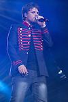02.06.2012. Dani Martin performs during in the ´Cadena 100´ 20 th anniversary Concert at the stadium Vicente Calderon in Madrid. In the image: Dani Martin  (Alterphotos/Marta Gonzalez)