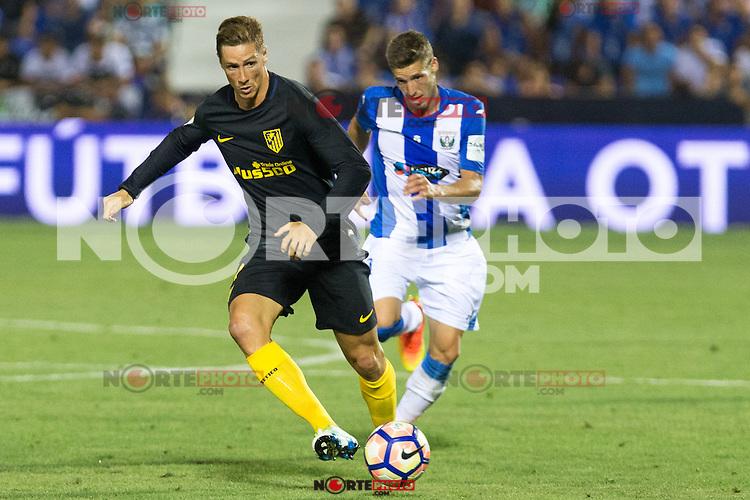 Atletico de Madrid's Fernando Torres during the match of La Liga between Club Deportivo Leganes and Atletico de Madrid at Butarque Estadium in Leganes. August 27, 2016. (ALTERPHOTOS/Rodrigo Jimenez) /NORTEPHOTO