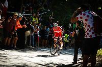 Picture by Richard Blaxall/SWpix.com - 30/09/2018 - Cycling 2018 Road Cycling World Championships Innsbruck-Tirol, Austria - Men's Elite Road Race -  the Ride to Höll (Hell Climb)