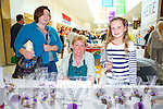 A Taste of Tralee at Manor West Shopping Center on Saturday, Pictured (Left)Laura Nugent, (Right)Julie Nugent, Cahersiveen (Center) Eileen McClure(Killarney Toffee)