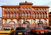 Manaus, Brazil. The Customs House, built by the British in 1906 using Scottish bricks in imperial India style.