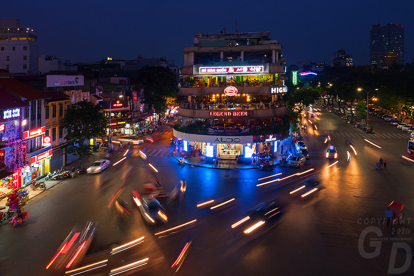 Hanoi, the capital of Vietnam, is known for its centuries-old architecture and a rich culture with Southeast Asian, Chinese and French influences. At its heart is the chaotic Old Quarter, where the narrow streets are roughly arranged by trade. There are many little temples, including Bach Ma, honoring a legendary horse, plus Đồng Xuân Market, selling household goods and street food.