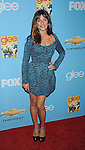 "HOLLYWOOD, CA. - September 07: Lea Michele attends the ""Glee"" Season 2 Premiere Screening And DVD Release Party at Paramount Studios on September 7, 2010 in Hollywood, California."