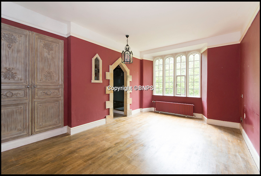 BNPS.co.uk (01202 558833)<br /> Pic: Savills/BNPS<br /> <br /> King of the castle...<br /> <br /> This impressive 13th century moated castle is the perfect pad for anyone looking for a regal life.<br /> <br /> The Grade II* Listed home is steeped in history - once the scene of an English Civil War battle - and feels like a step back in time with its tower room, chapel, medieval fireplace and Tudor detailing.<br /> <br /> The &pound;1.45million house is on the market with Savills.