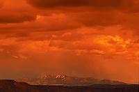 Sunset, Ortiz Mountains, New Mexico