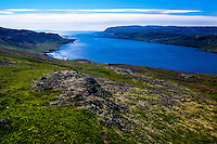 The Westfjords in northwestern Iceland.