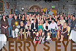 KEY TO THE DOOR: Hayley Ferriss, Colchester, England (seated 4th left) granddaughter to the late Maureen Ferriss nee Hayden, Tralee enjoying a great time celebrating her 21st birthday with a very large group of family and friends at Ballyseede Castle on Friday..   Copyright Kerry's Eye 2008