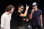 The Wanted, May 19, 2013 : Max George, Tom Parker,Jay McGuiness, of The Wanted attend showcase live on 19 May Tokyo Japan. (Photo by Mooto Naka/AFLO)
