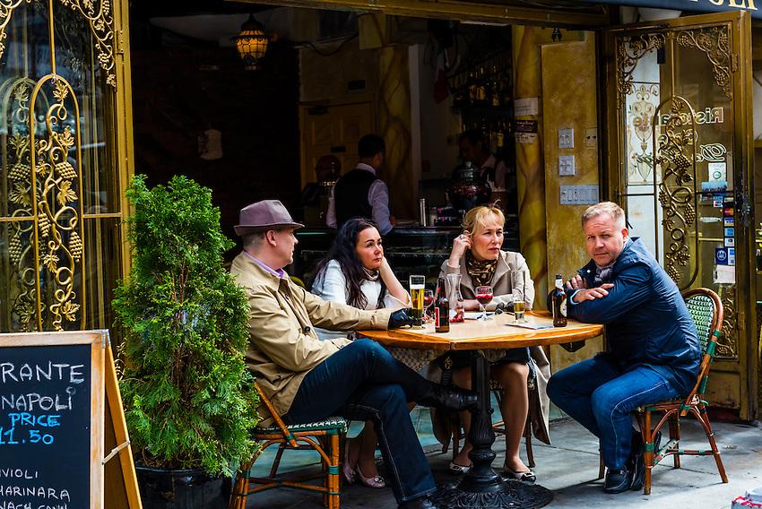 Caffe Napoli, Little Italy, New York, New York USA.