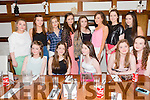 Sheila Durham from Castleisland celebrating her 16th birthday with friends at La Scala's on Monday. Front l-r Grace Murphy, Lorraine Hanrahan, Sheila Durham, Rachel Cummins and Shauna O'Donoghue.Back l-r Grainne Cremmins, Tamara Horan, Kerry McCarthy, Ella Guerin, Roisín Horan, Fiona Nelligan,Leona McHenry and Joanne McCarthy