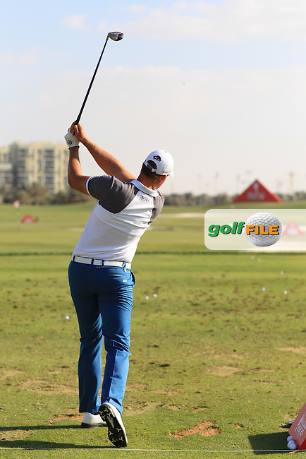 Henrick Stenson & Pete Cowan Swing sequence at the Abu Dhabi HSBC Golf Championship in the Abu Dhabi golf club, Abu Dhabi, UAE..Picture: Fran Caffrey/www.golffile.ie.