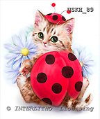Kayomi, CUTE ANIMALS, paintings, LadyInRed_M, USKH89,#AC# illustrations, pinturas ,everyday