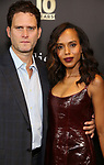 Steven Pasquale and Kerry Washington attend the Broadway Loyalty Program Audience Rewards celebrating their 10th Anniversary  on September 24, 2018 at Sony Hall in New York City.