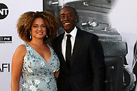 HOLLYWOOD, CA - JUNE 7: Bridgid Coulter and Don Cheadle at the American Film Institute Lifetime Achievement Award Honoring George Clooney at the Dolby Theater in Hollywood, California on June 7, 2018. <br /> CAP/MPI/DE<br /> &copy;DE//MPI/Capital Pictures