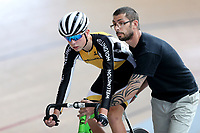 Boston Bright of Wellington at the Age Group Track National Championships, Avantidrome, Home of Cycling, Cambridge, New Zealand, Friday, March 17, 2017. Mandatory Credit: © Dianne Manson/CyclingNZ  **NO ARCHIVING**