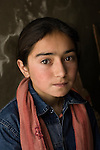 Portrait of a Hunza girl.
